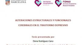 Lectura de tesi doctoral: Dra. Elena Rodríguez Cano
