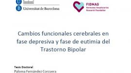 Lectura de tesis: Dra. Paloma Fernández