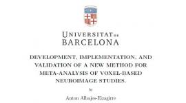 Lectura de tesi doctoral: Dr. Anton Albajes-Eizagirre