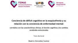 Lectura de tesi doctoral: Dra. Beatriz González