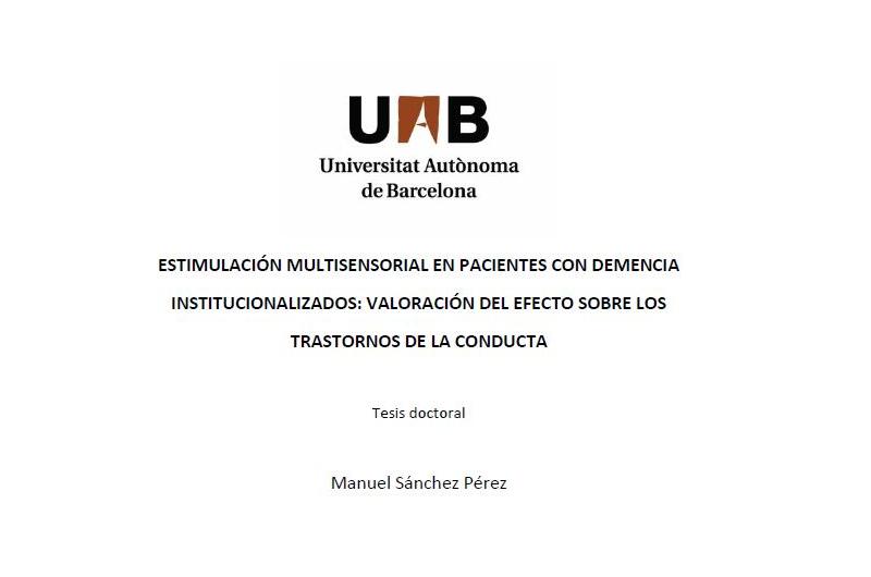 Lectura de tesi doctoral: Dr. Manel Sánchez
